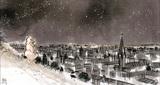 les étoiles dans la ville