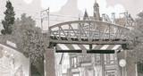 Un pont dans la ville